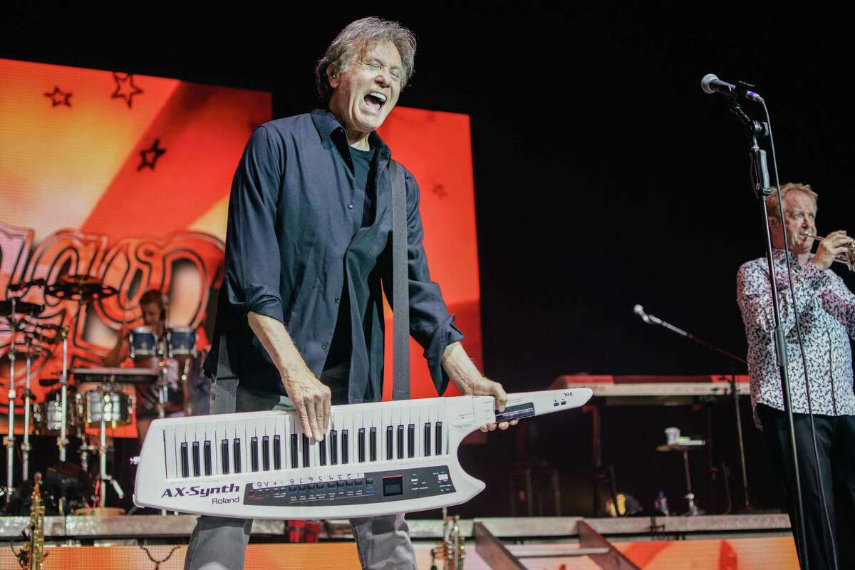 Classic rock legends Chicago performed the first concert at The Cynthia Woods Mitchell Pavilion in The Woodlands in 602 days. The band treated almost 7,000 attendees to a rocking night of tunes on Sunday.