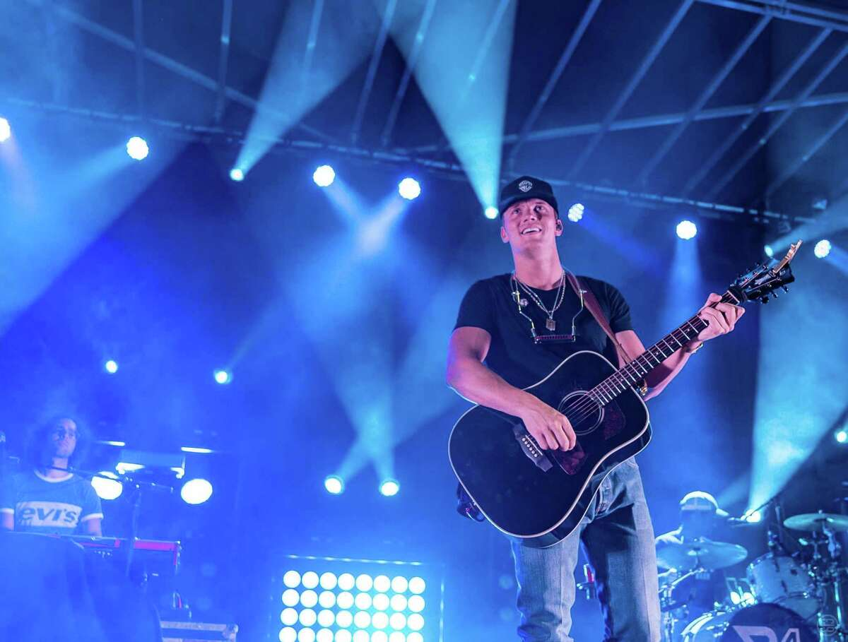 College Park High School graduate Parker McCollum will return home in Oct. 2, 2021, for a show at The Cynthia Woods Mitchell Pavilion in The Woodlands. He graduated from high school on the same stage he'll be headlining on this fall with the Flatland Cavalry.