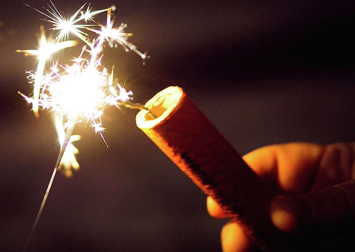 Besides being illegal in Illinois, fireworks that explode can cause bad reactions in those who suffer from Post-Traumatic Stress Disorder or can scare pets.
