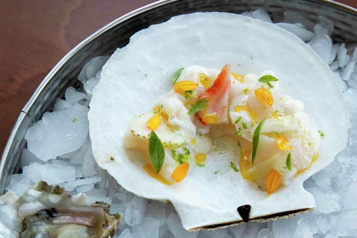 The seafood platter at Snail Bar.