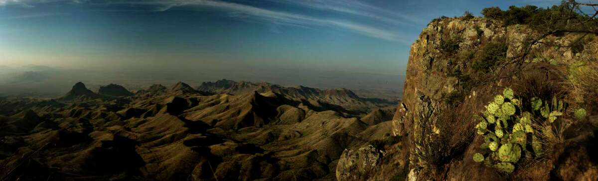 The view from the South Rim at Big Bend National Park Monday, April 10, 2017. ( Michael Ciaglo / Houston Chronicle)