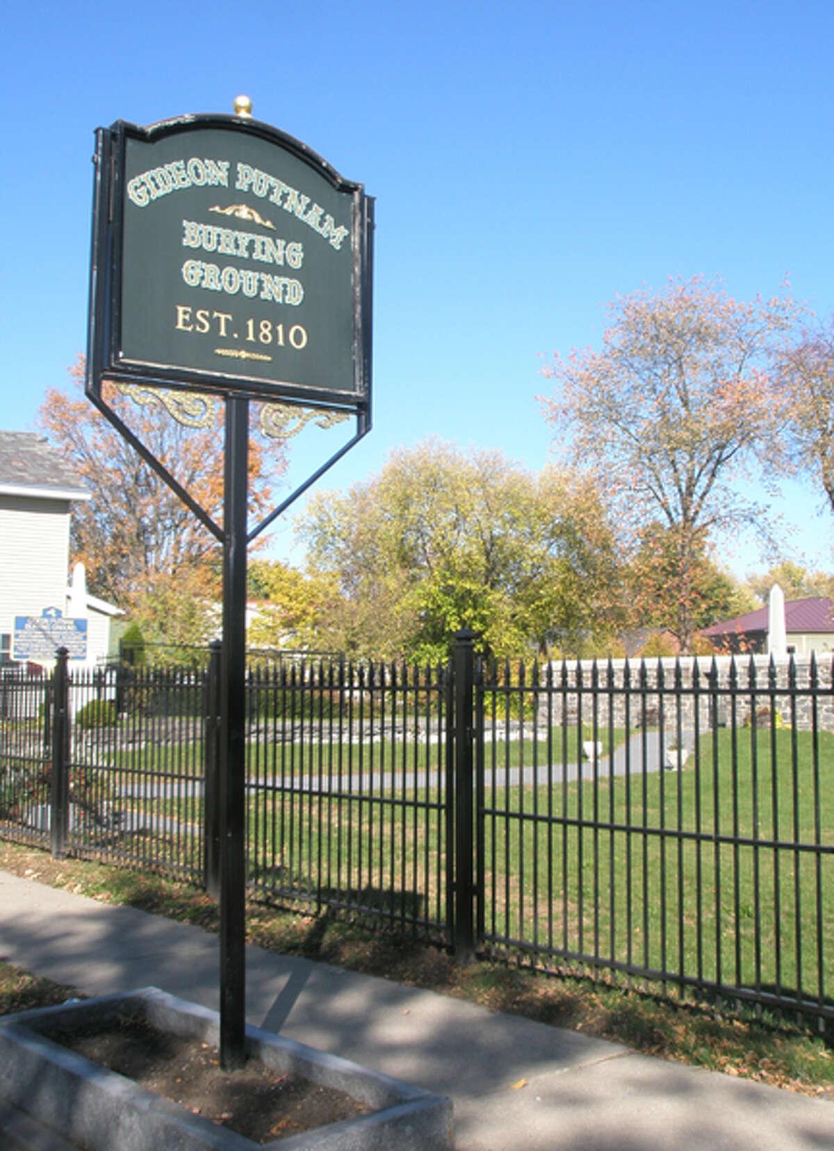 Gideon Putnam Cemetery.