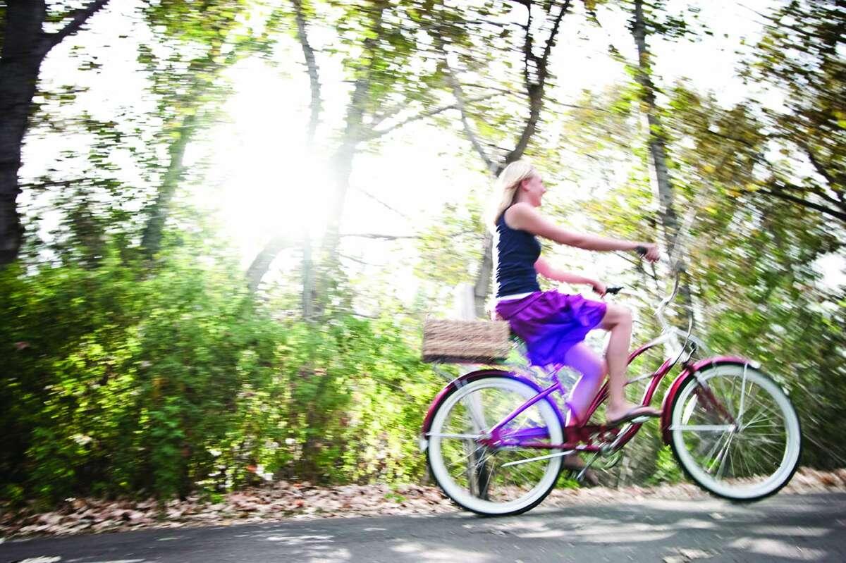 cycling the Boise Greenbelt