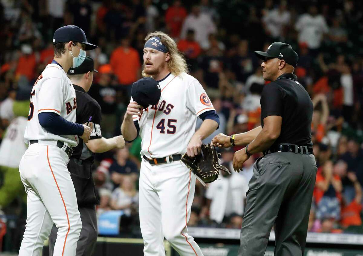 It was a night to forget for Astros reliever Ryne Stanek, who saw Tuesday's loss to the Orioles turn into a blowout on his watch.