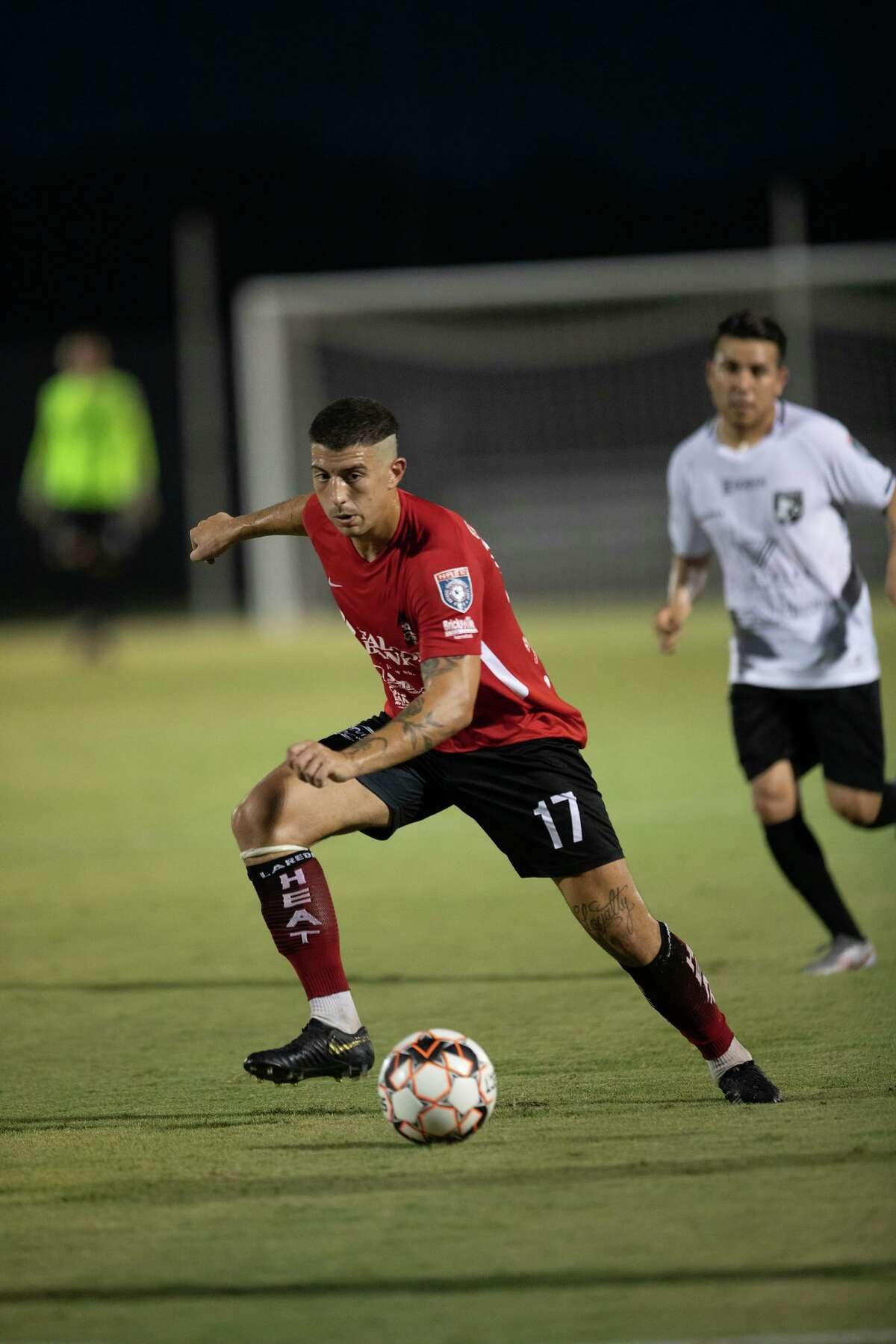 Gabriel Gacovicaj has five goals in the past five games for the Heat including two in the first half of Saturday's 4-2 victory at FC Brownsville.