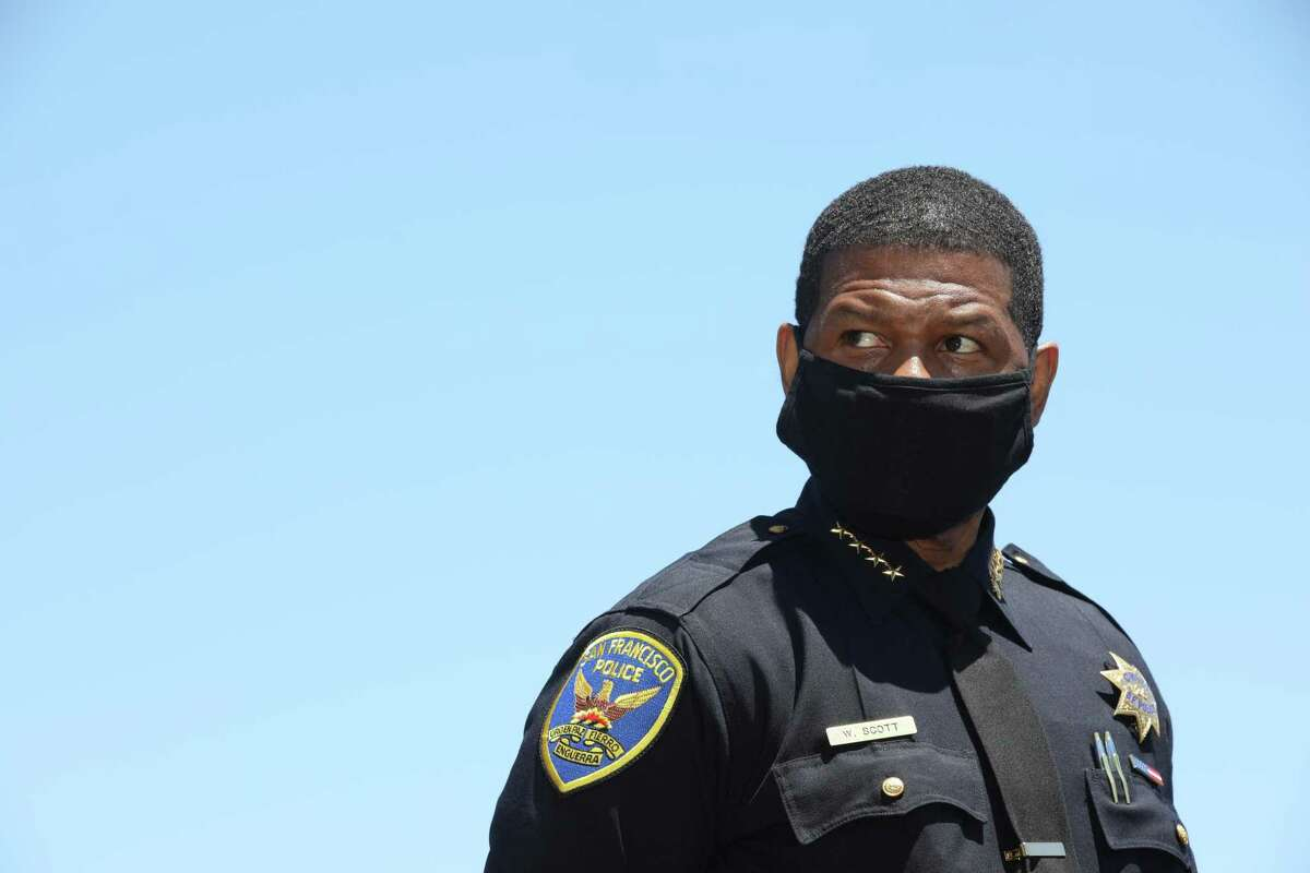 San Francisco Police Chief William Scott said he needs more resources for his department. The city increased funding for its police department, but not as high as some had wanted. Others wanted less.