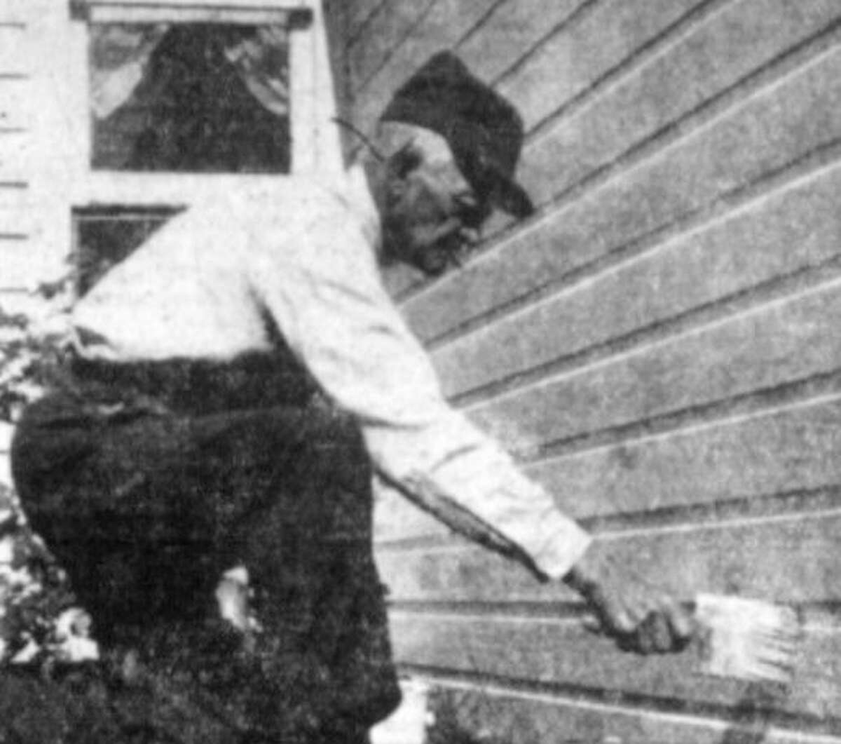 Moving to Luther as a boy in 1871, by his 72nd birthday, Joe Bull was still active in the village and his memory was sharp when it came to earlier times. (Courtesy photo)