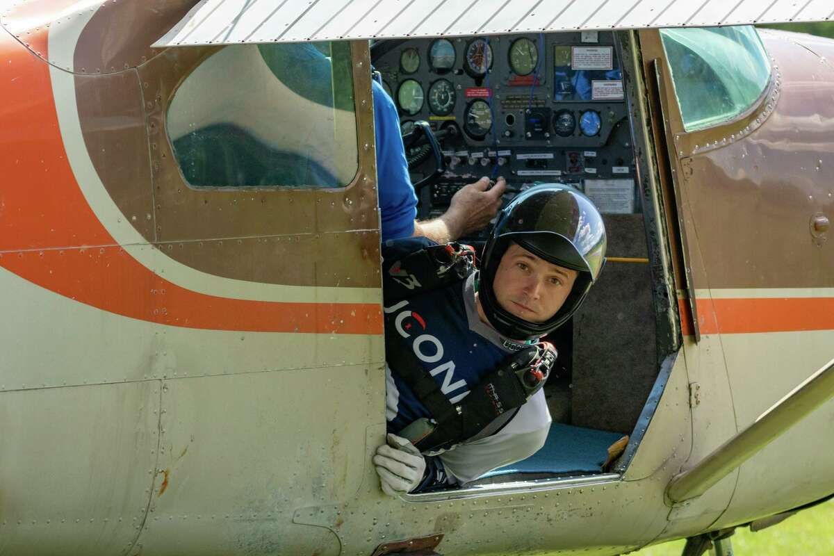 Skydiver Doug Hendrix made 100 jumps in a single day on June 16, breaking the state record.