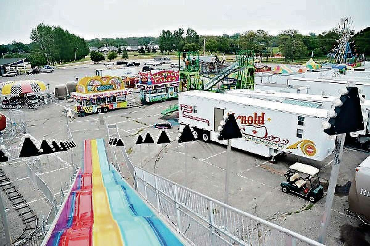 The Manistee National Forest Festival's carnival visitors can look forward to a merry-go-round, ferris wheel, possibly a Hurricane or Tornado ride, a children's train, a Paratrooper ride, a super slide and others.