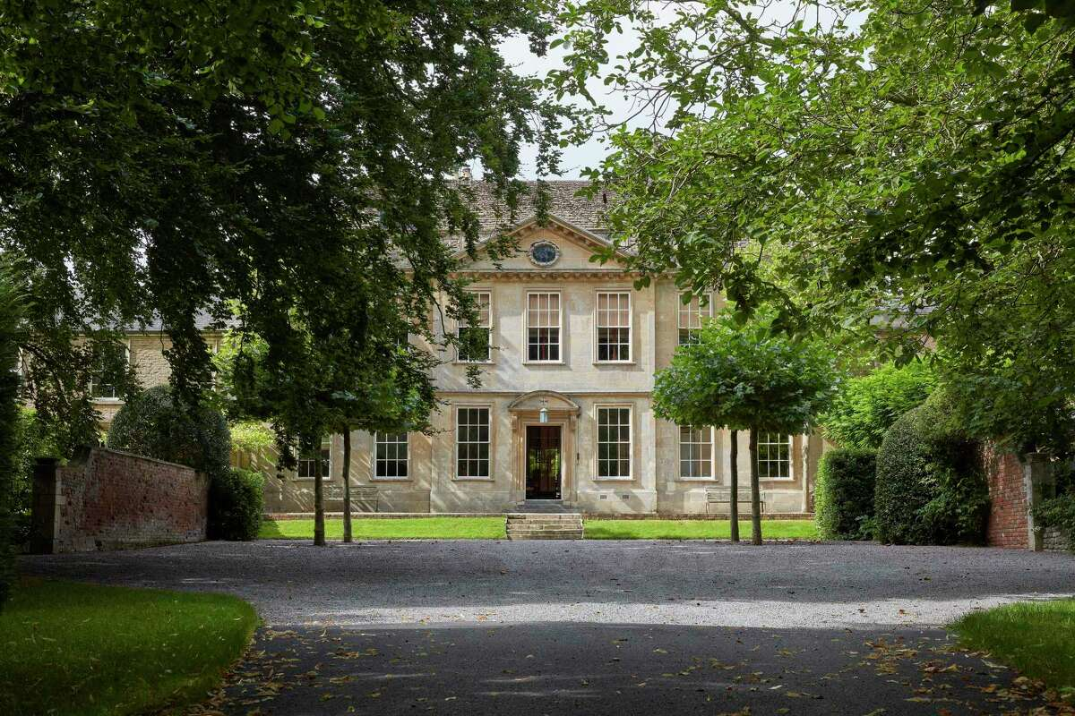 Lindsay Cuthill specializes in selling country homes in the UK, such as this home, Shaw House, in Wiltshire.
