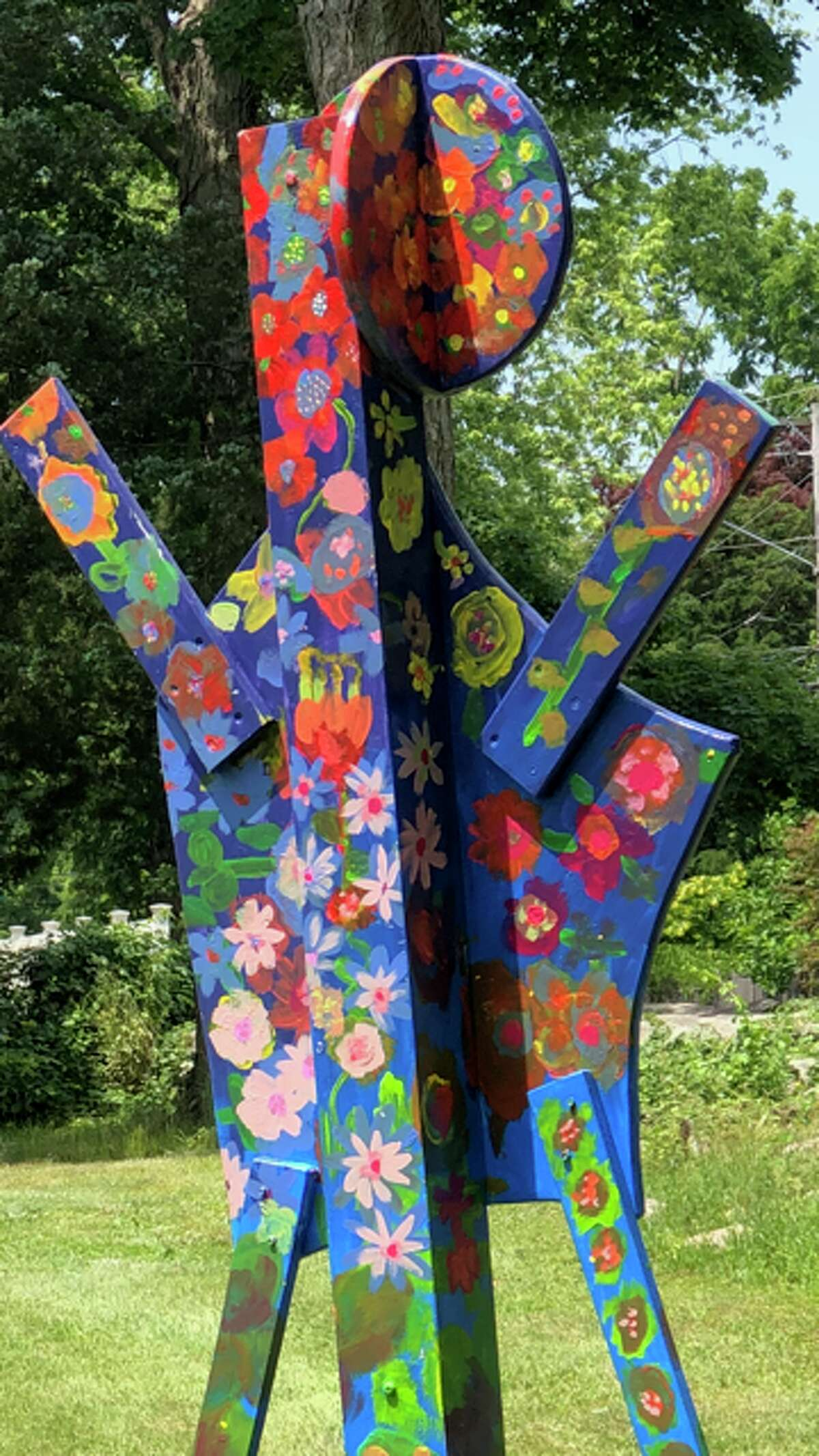 The nine sculptures are currently on display at the upper and lower gardens of the farm. In addition to the sculptures, the CMS students planted lettuce and radishes seedlings at theschool garden space at Fodor Farm, according to a press release.