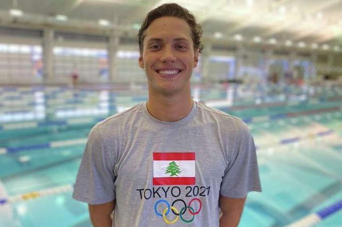 Cy Woods High School grad Munzer Kabbara is taking part in the 2021 Summer Olympics in Tokyo as a member of the Lebanon Olympic Team after receiving an invitation, based on highest points, from the International Swimming Federation.