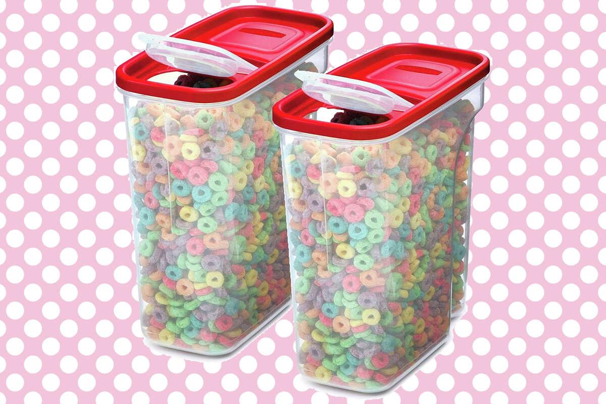 Rubbermaid premium modular cereal container