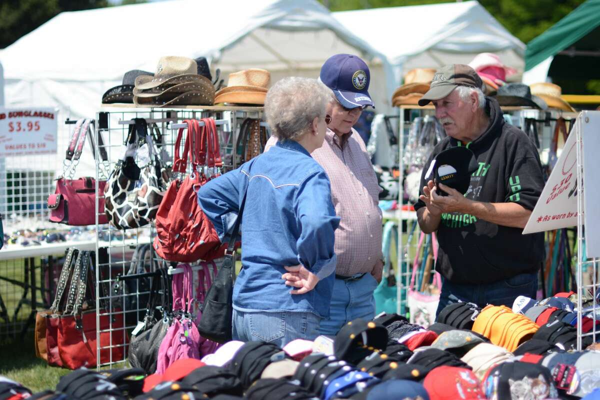 The Forest Festival Marketplace offers a variety of goods. (File photo)
