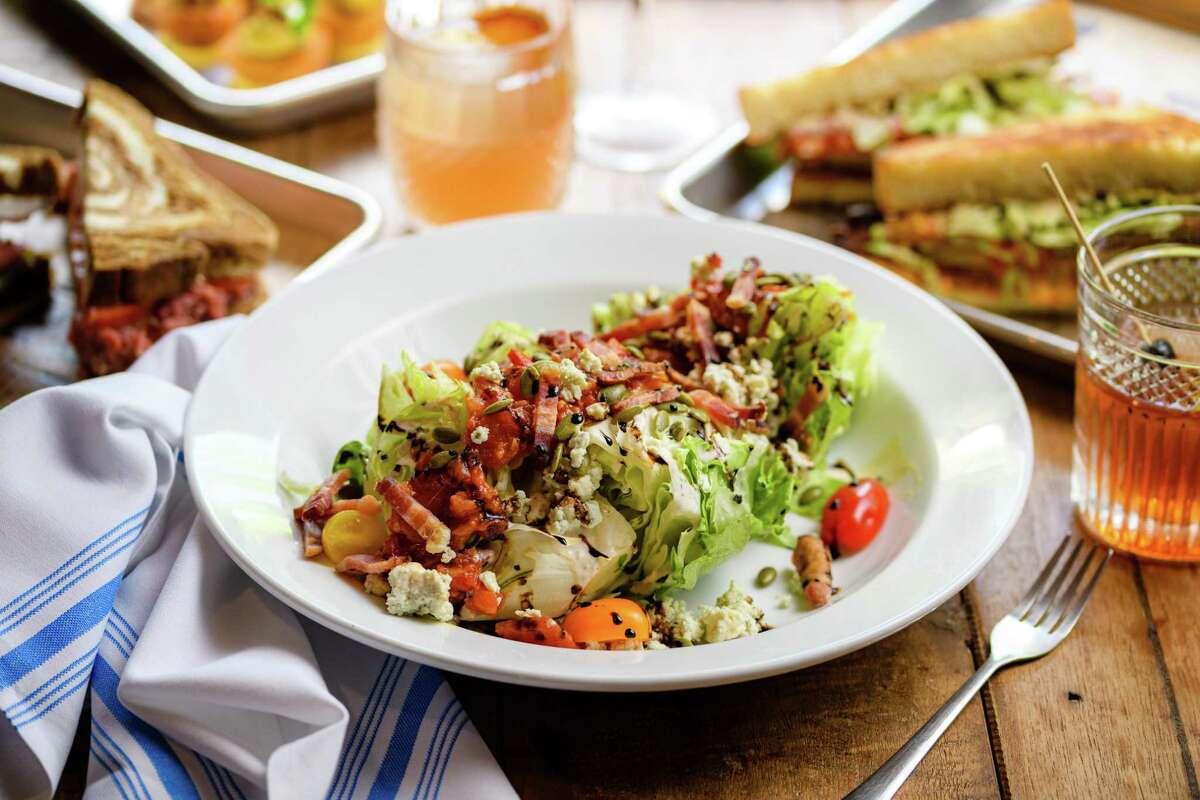 The wedge salad.