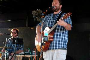 One of last year's Music at the Beach bands entertains the crowd with live music. (Tribune File Photo)