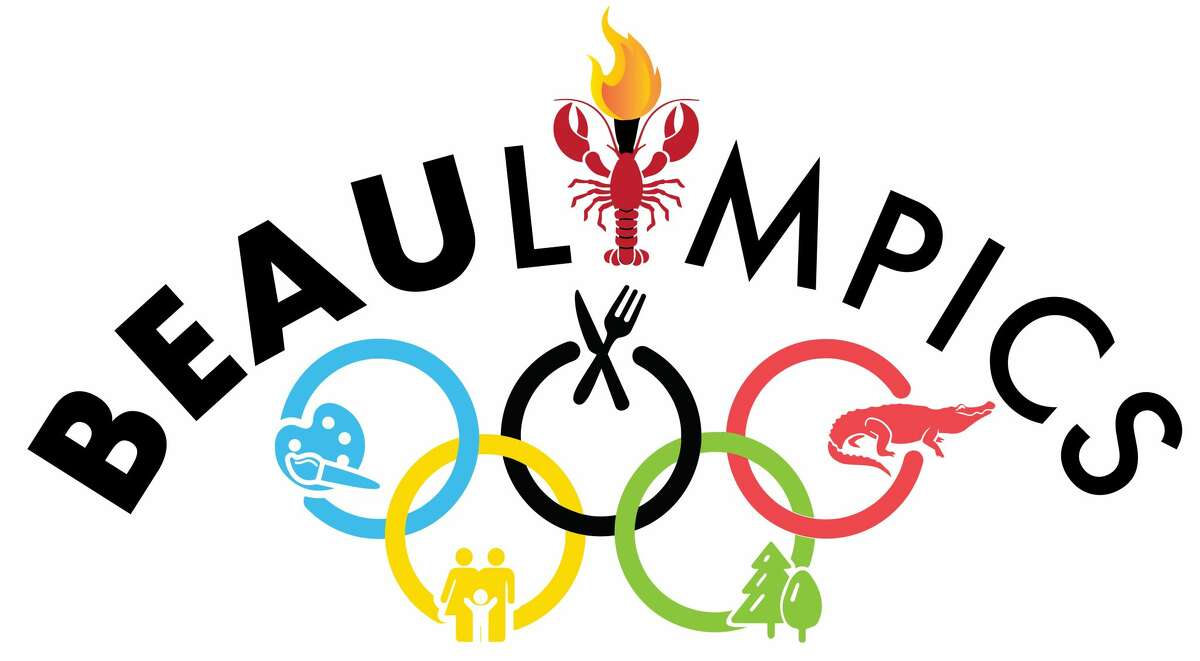"""The event is a """"one-day extravaganza of games, music, and entertainment,"""" according to a news release. The logo for the event mimics the traditional five Olympic rings, but for Beaulympics, they represent Beaumont's travel themes: food/drink, kid-friendly, active/adventure, art and Cajun culture."""