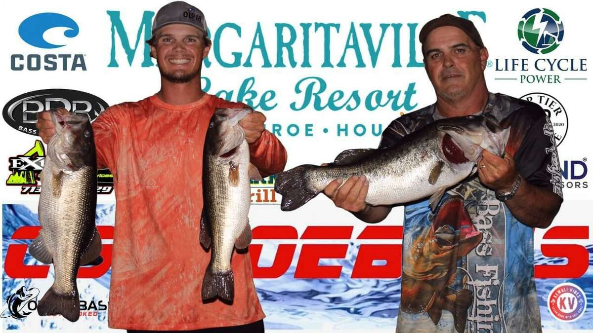 Beau and Sam Grantham came in first place in the CONROEBASS Tuesday Tournament with a weight of 17.11 pounds.