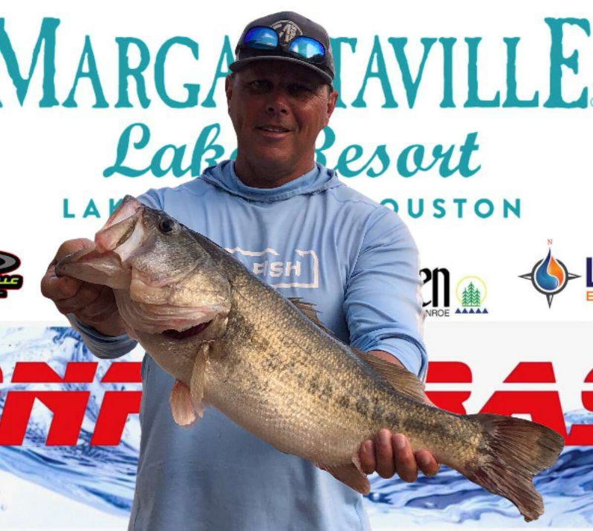 Ronnie Wagner came in first place in the CONROEBASS Thursday Big Bass Tournament with a weight of 7.81 pounds.