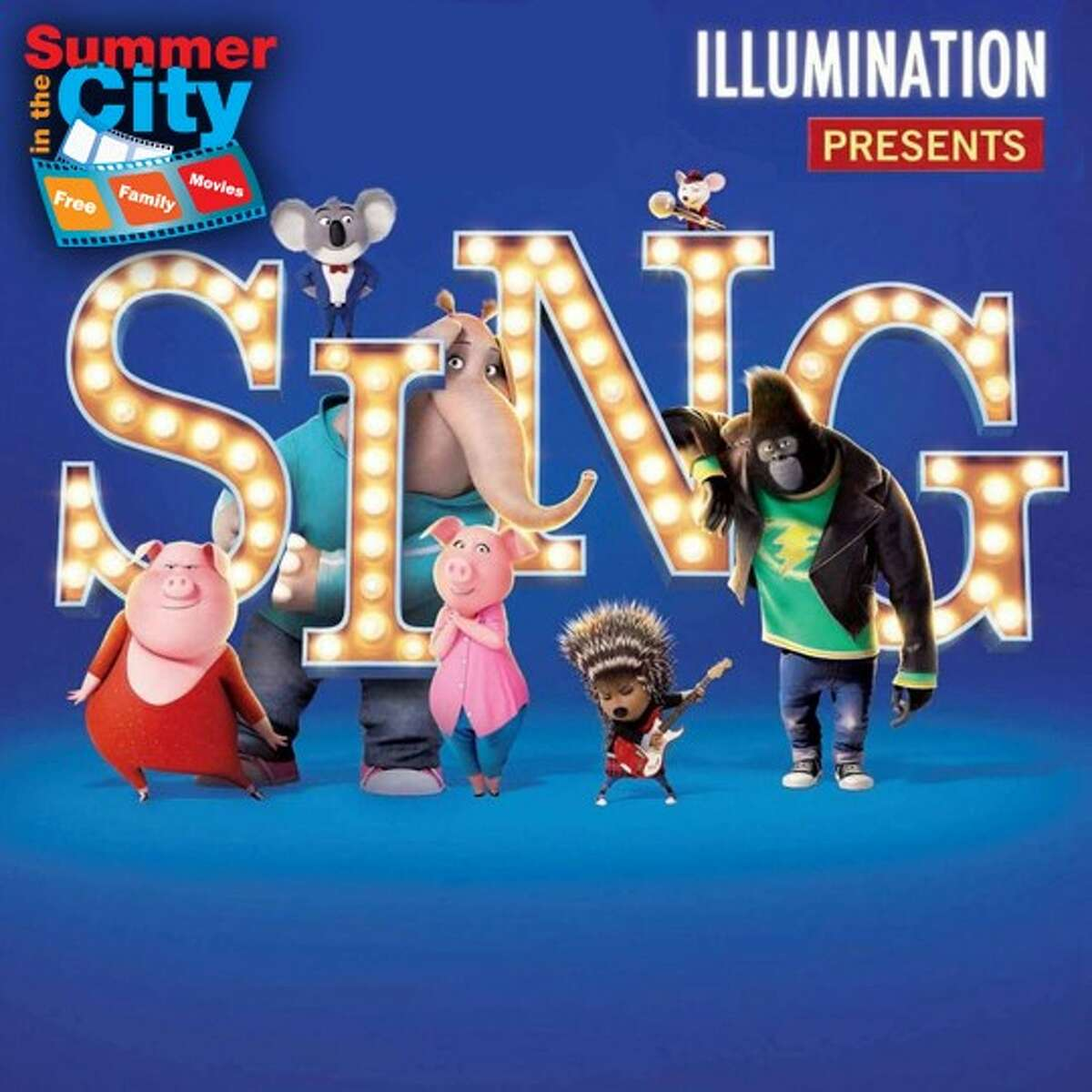 """""""Sing"""" will be screened as a part of """"Summer in the City"""""""