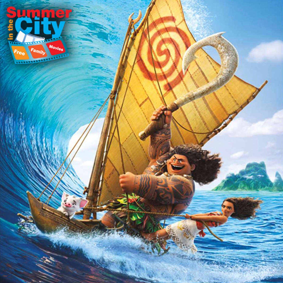 """""""Moana"""" which will be the first movie screened as a part of """"Summer in the City"""""""