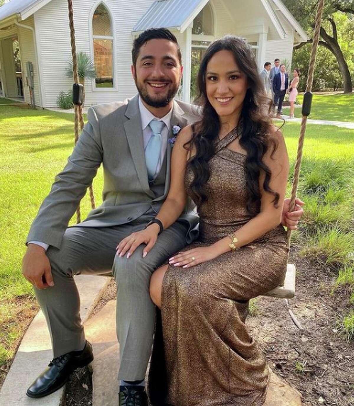 Lisa Torres and her fiancé Alex Cortes