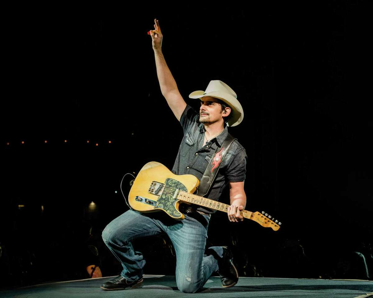Brad Paisley is one of the headliners who will be playing the 2022 San Antonio Stock Show & Rodeo.