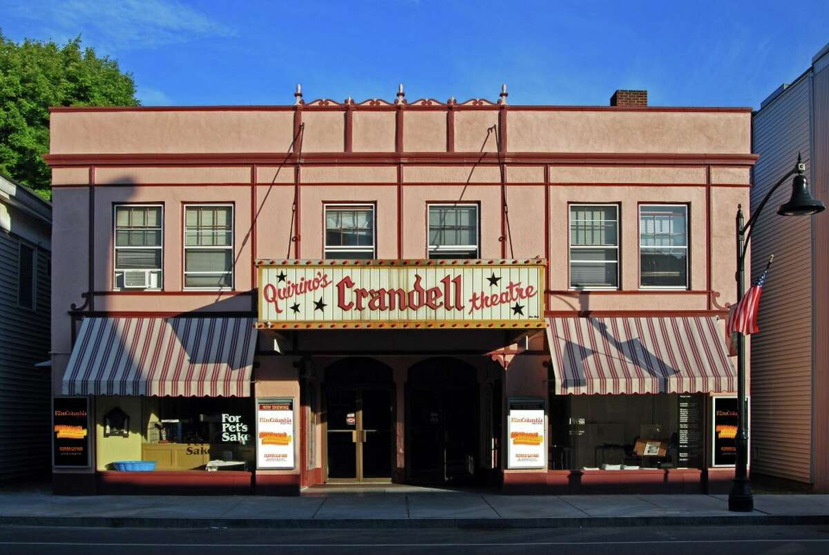 The exterior of Chatham's historic Crandell Theatre