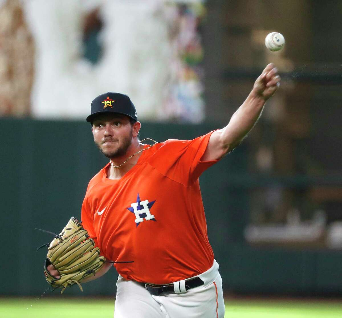 Slated to start Thursday for Class AAA Sugar Land, Ryan Hartman instead was called up to the Astros to help their taxed bullpen.