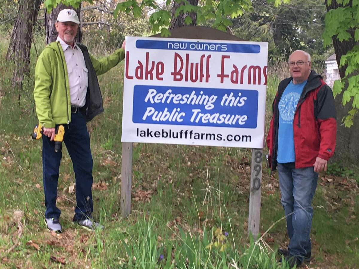 The Lake Bluff Farms nonprofit officially took custody of the Manistee property on April 15 and has been busy working on the 2890 Lakeshore Road site since.
