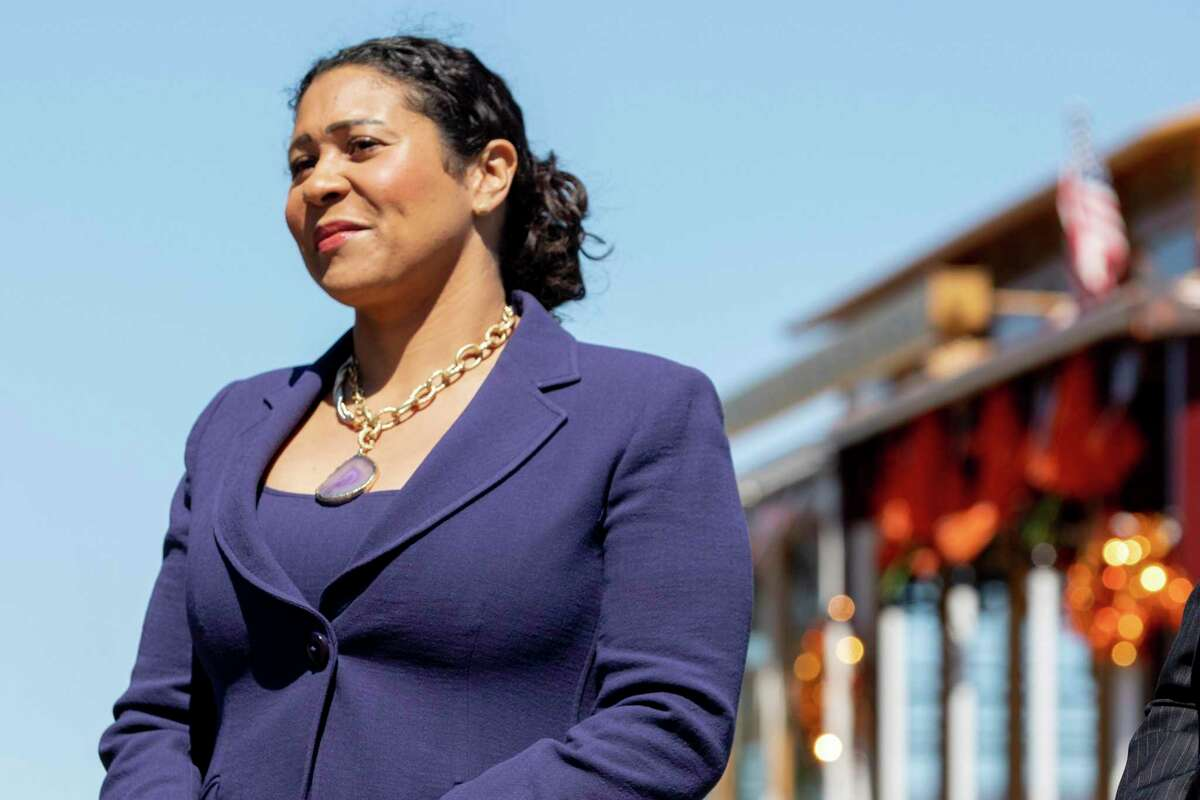 """Mayor London Breed said the city's data-driven approach helped San Francisco deliver better services and build trust during the pandemic. The city will receive a grant from Bloomberg Philanthropies to build an """"innovation team."""""""