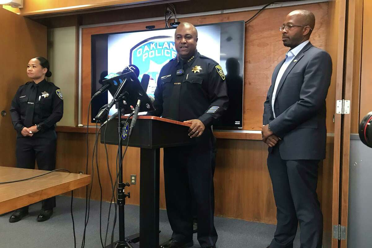 Oakland Police Chief LeRonne Armstrong sharply criticized the decision to redirect $18 million from police.