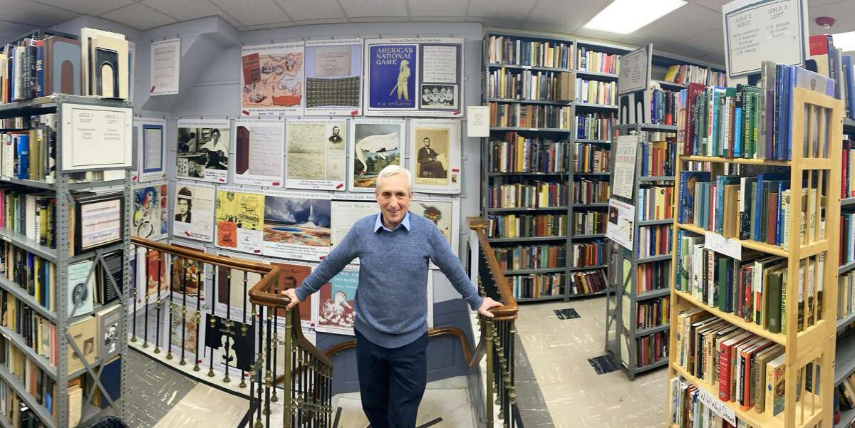 Kenneth Gloss, proprietor of the Brattle Book Shop in Boston, one of America's oldest antiquarian book shops.