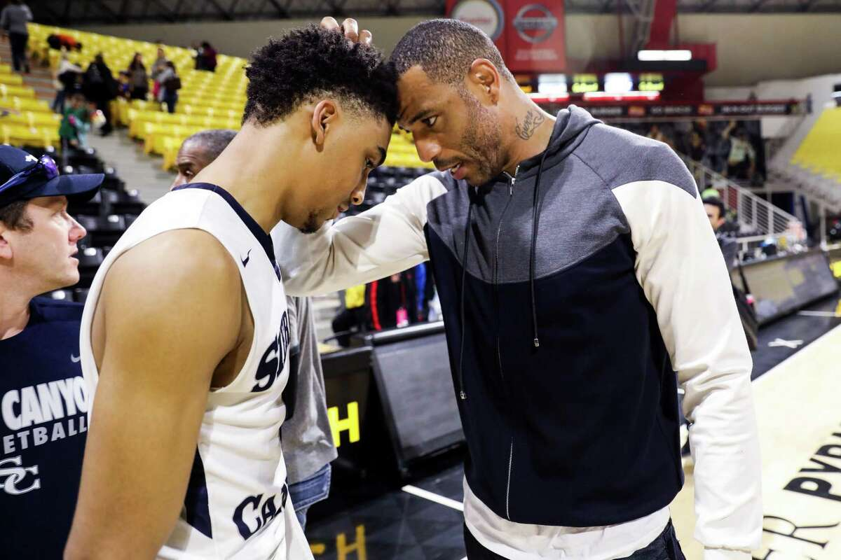 """Kenyon Martin Sr. on his son: """"I never wanted to put that pressure on him to succeed and walk in my footsteps because there's a lot that comes with it, but he accepted the responsibility and the challenge. Now we're here, he's enjoying every minute of it and I'm just along for the ride."""""""