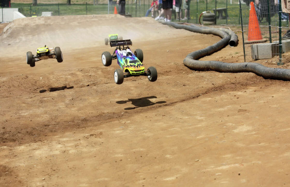 Jacksonville resident Dan Murray has begun building a track for radio-controlled cars at the former Pony-Colt Field across from Nichols Park.