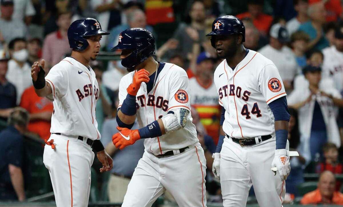 Yuli Gurriel (10),Michael Brantley and Yordan Alvarez have had plenty to celebrate this season, and MLB should recognize that at All-Star game.