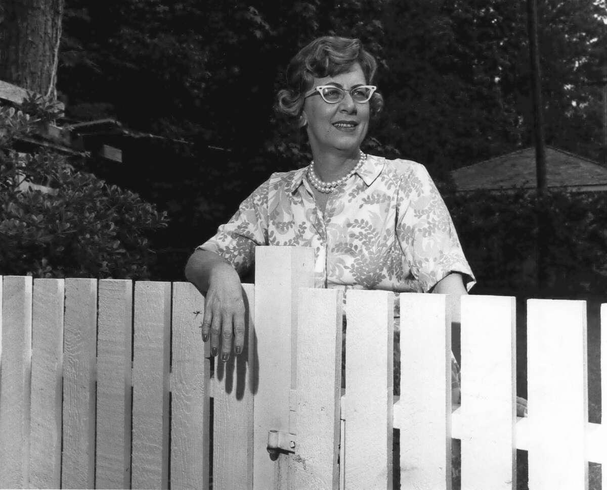 June Benefield in 1968.