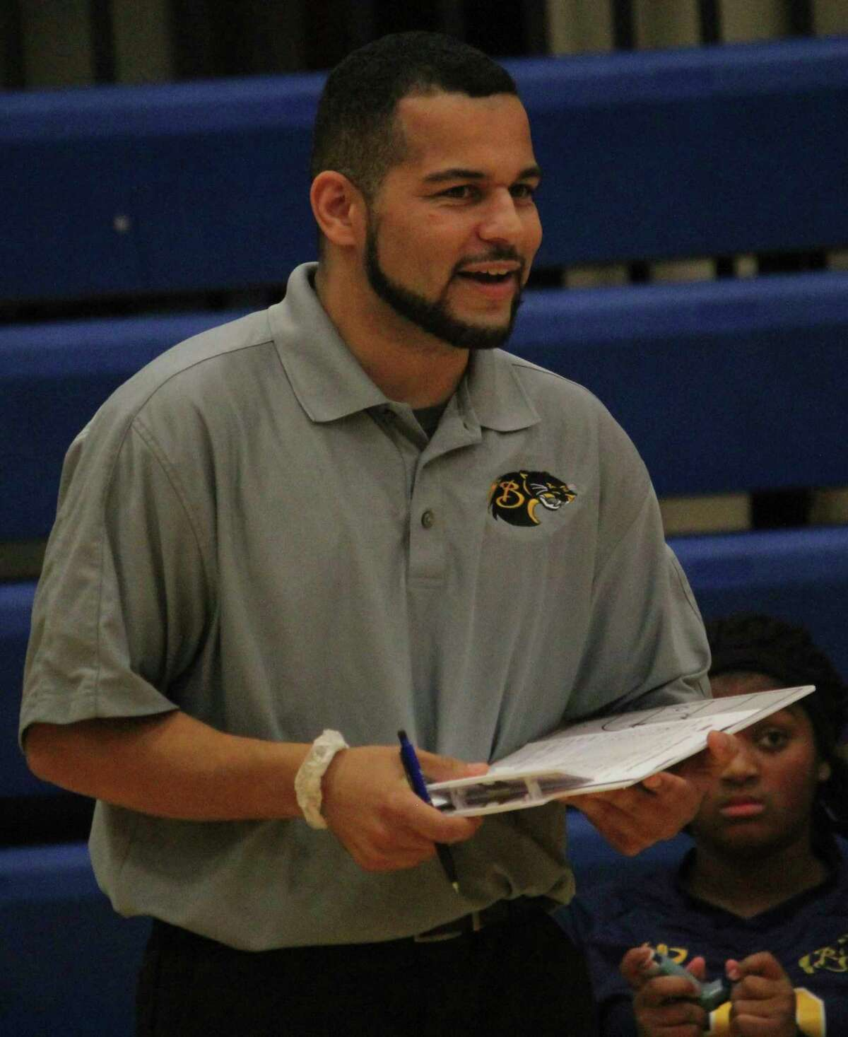 Duane Roberts is planning on an active summer for his Baldwin volleyball program. (Pioneer file photo)