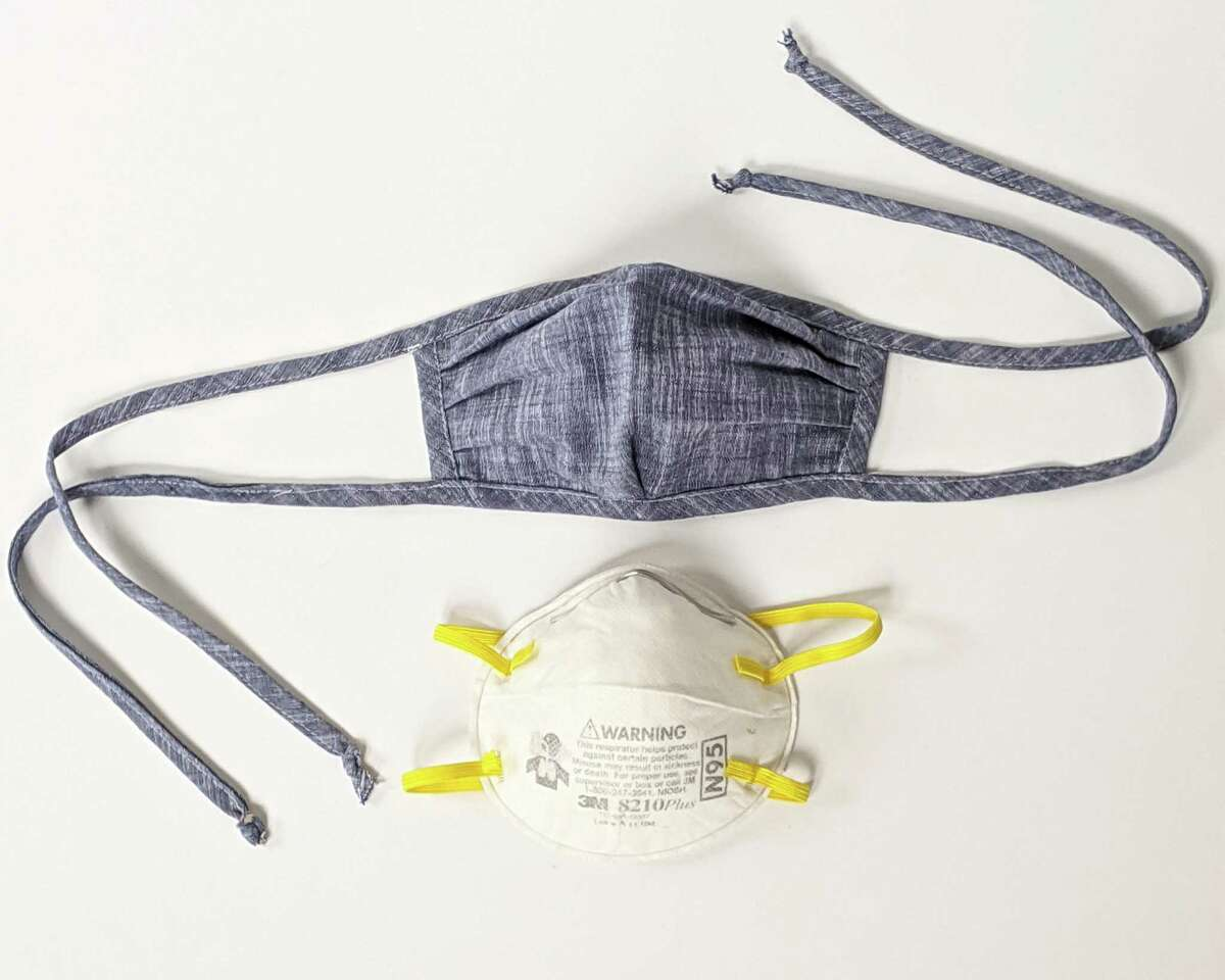 Sustainable fashion designer Amy Kuschel has begun a project to donate 2,500 cloth masks to health care workers to cover disposable N95 masks using existing fabric stock from her clothing line.