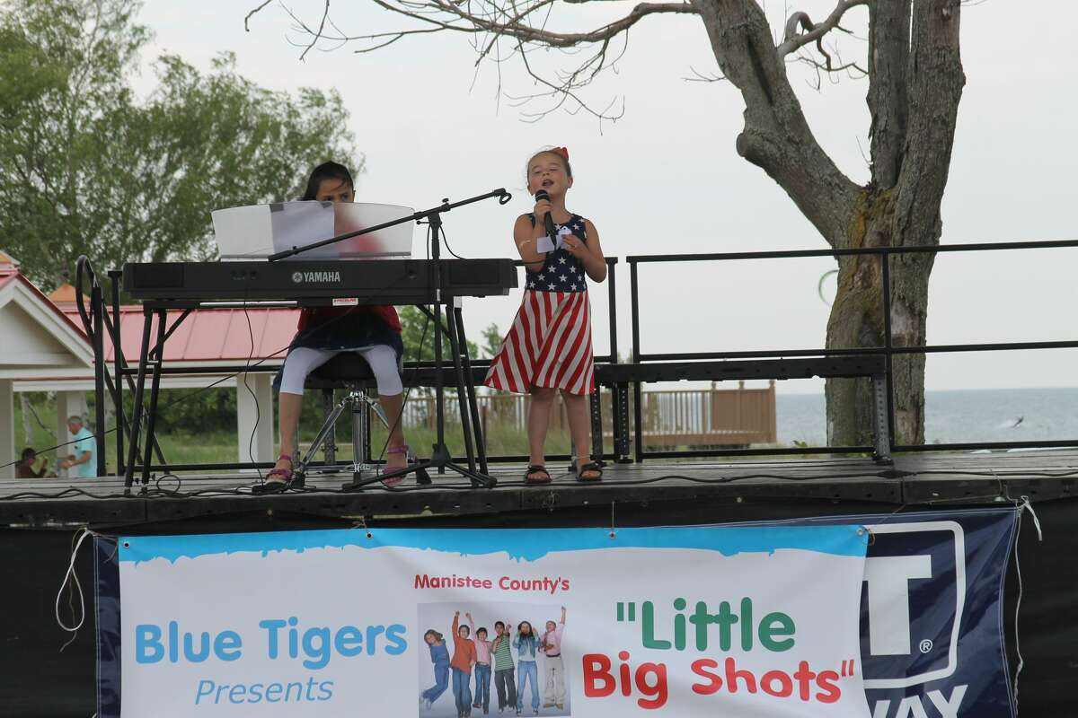 The Little Big Shots Talent Show will take place from 1-3 p.m. on July 3 at the Lions Pavilion, featuring talent of youngsters throughout the area. Manistee's own Toni Trucks will be the guest host this year.