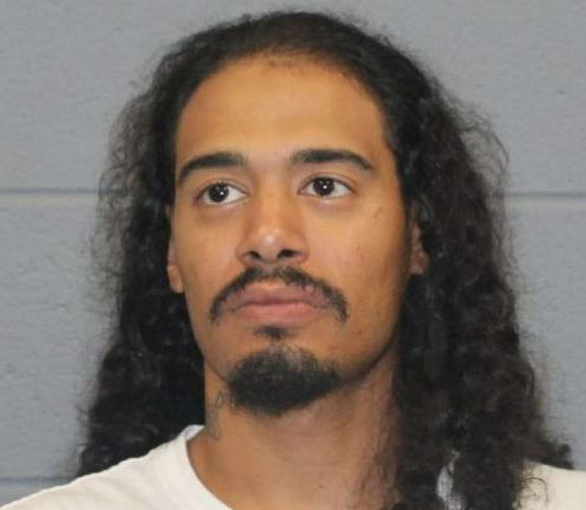 Rocky Alvarado, 27, was taken into custody in Waterbury, Conn., on Wednesday, June 30, 2021, by the Street Crime Unit on charges of first-degree assault, third-degree assault and disorderly conduct in connection with the June 26 stabbing of a 34-year-old woman on Willow Street, police said.