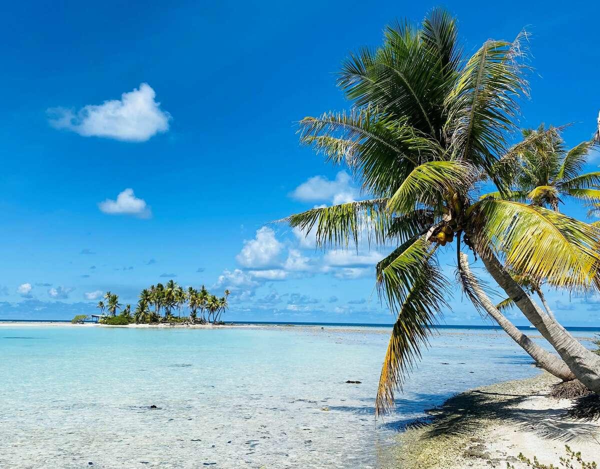 Rangiroa's Blue Lagoon is the stuff of dreams.
