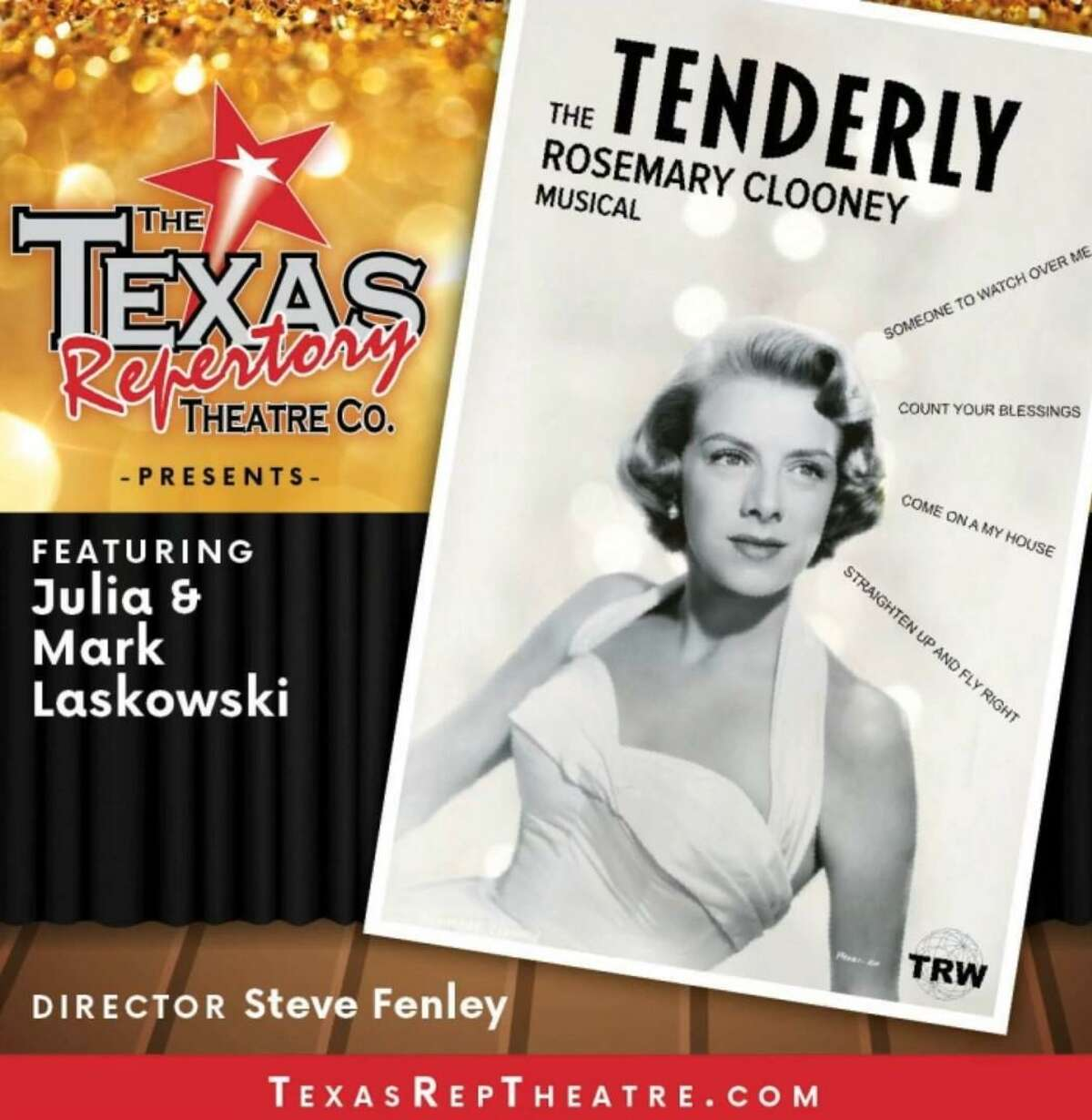 """The Texas Repertory Theatre will soon pay tribute to Rosemary Clooney with a new musical """"TENDERLY."""""""