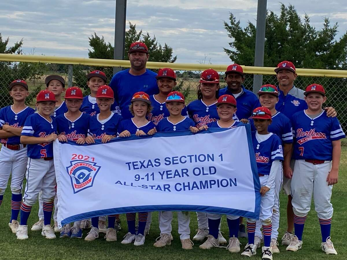 The Midland Northern 9-11 year old Little League All Stars pose after winning the Section 1 Tournament earlier this week in Lubbock by defeating Lubbock Western, 13-3.
