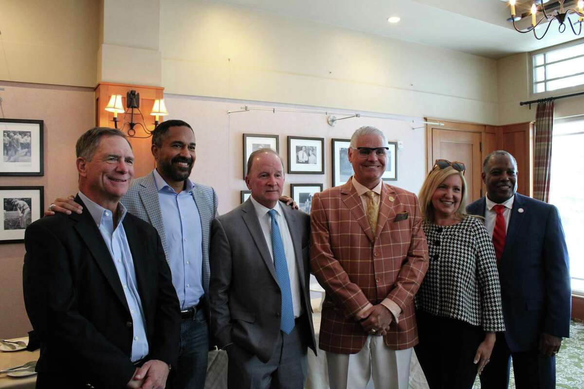 Partnership Lake Houston held their first in-person event, the State of the State Luncheon, on Wednesday, June 30 at the Golf Clubs of Houston.