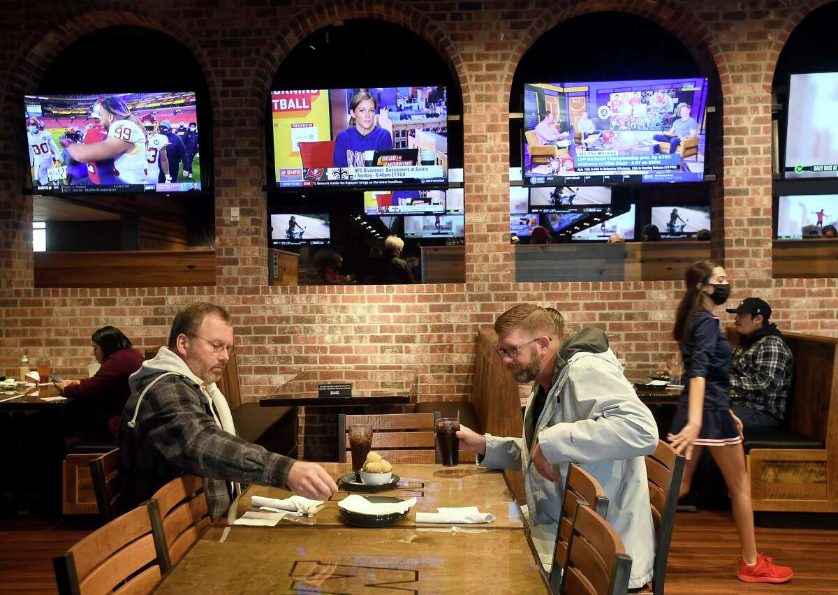 Service was underway at Walk-On's Sports Bistreaux on its opening day in Port Arthur in January.