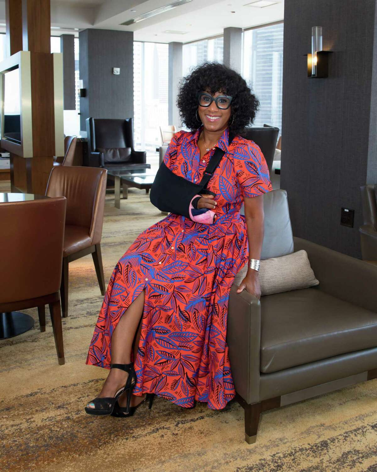 Houston Chronicle lifestyle columnist Joy Sewing is a 2022 Woman of Distinction