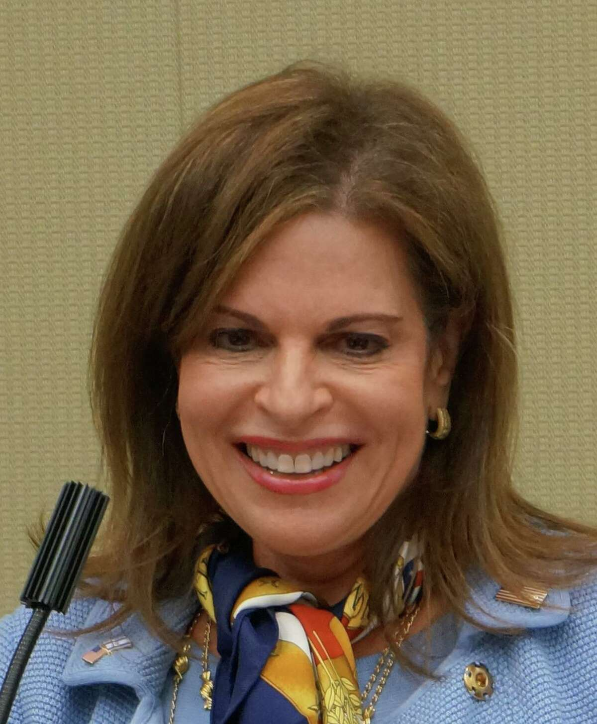 Leora Levy of Greenwich is seeking the Republican nomination to run for the state Senate.