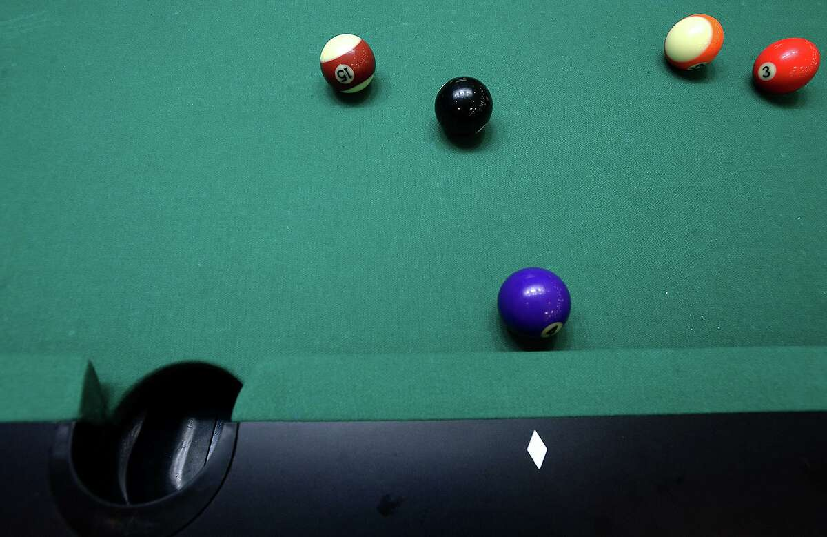The Gulf Coast Women's Regional Billiards Tour returns to Big Tyme Billards in Spring for a 9-ball tournament July 10-11. Shown here, competition gets underway during the American CueSports Alliance 2018 ACS Texas State Championships billiards tournament in Port Arthur.