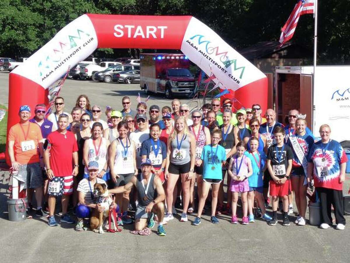 The 5k Freedom Fun Run is planned 9:30 a.m. to 3:30 p.m. at Lake Lou Yaeger in Litchfield on Saturday, July 3. Participation is $30 on race day.